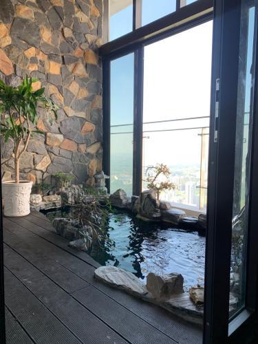 nội thất penthouse riviera point Căn hộ Penthouse Riviera Point đầy đủ nội thất, view sông thơ mộng.
