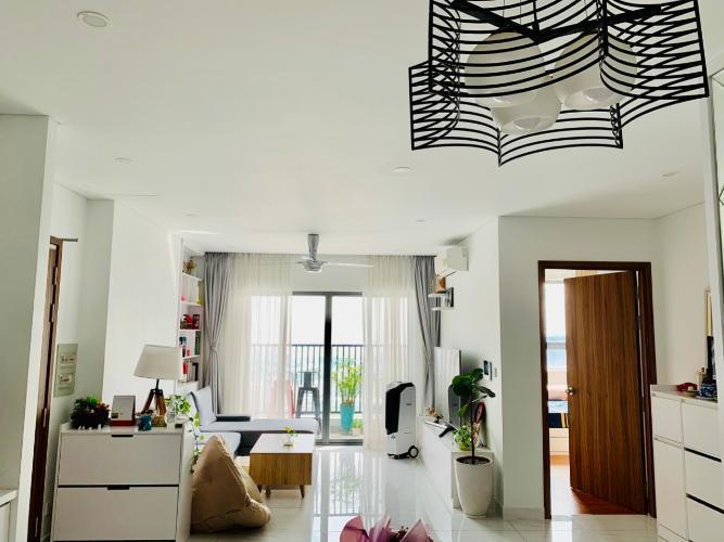 Phòng khách, Căn hộ D-Vela, Quận 7 Căn hộ tầng 11 D-Vela ban công hướng Đông, view nhìn ra thành phố.