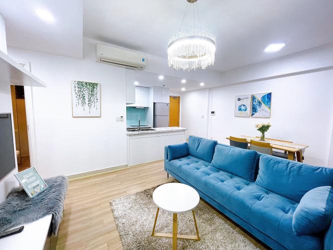 Căn hộ Masteri Thảo Điền tầng 6 view thành phố, nội thất đầy đủ.