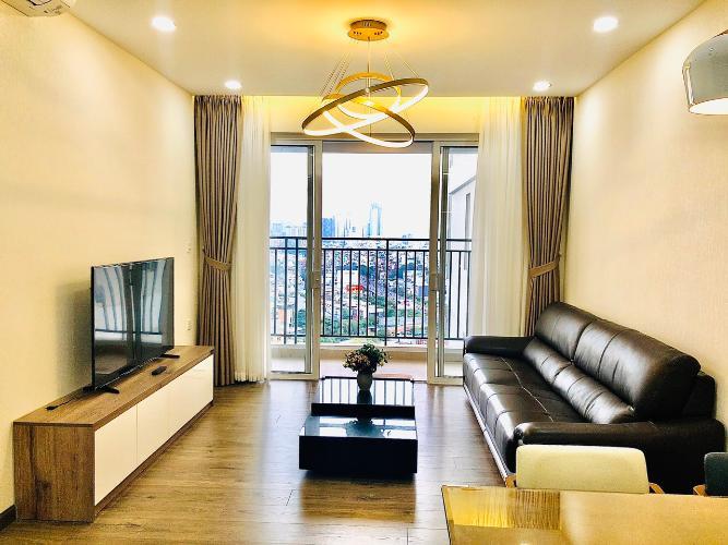 Căn hộ tầng 14 Sunrise Cityview cửa hướng Tây Bắc, đầy đủ nội thất.