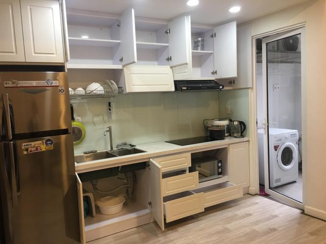 Phòng bếp căn hộ Lexington Residence, Quận 2 Căn hộ Lexington Residence 2 phòng ngủ, bàn giao đầy đủ nội thất.