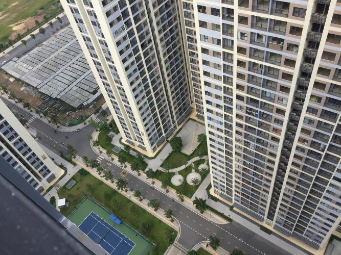 View Vinhomes Grand Park Quận 9 Căn hộ tầng cao Vinhomes Grand Park 1 phòng ngủ, ban công đón gió.
