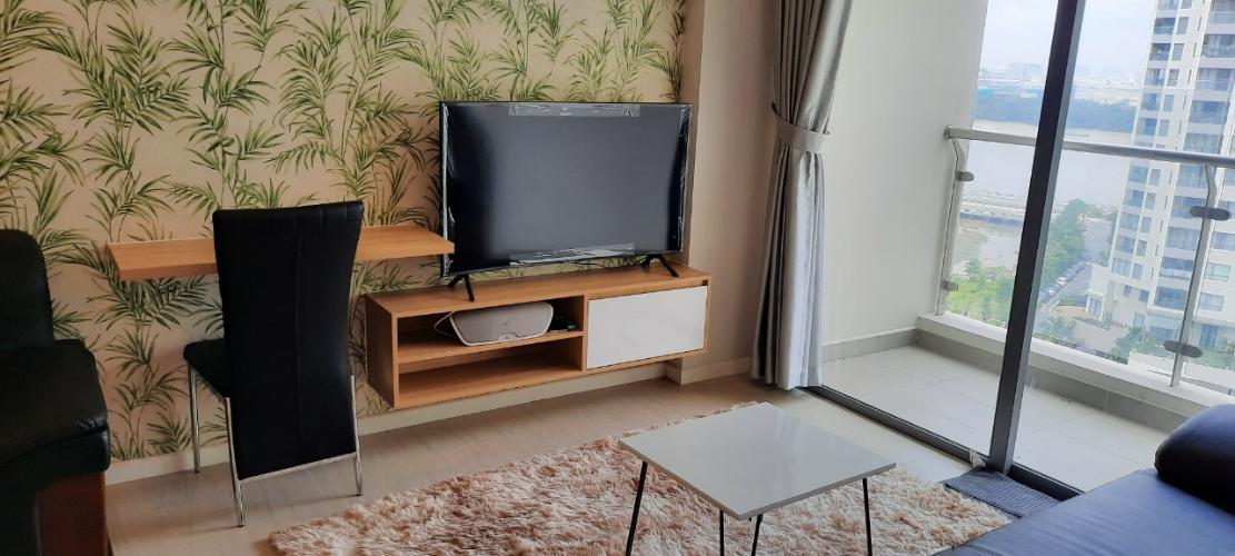 Phòng khách Diamond Island Căn hộ 1 phòng ngủ Đảo Kim Cương view ngắm thành phố.