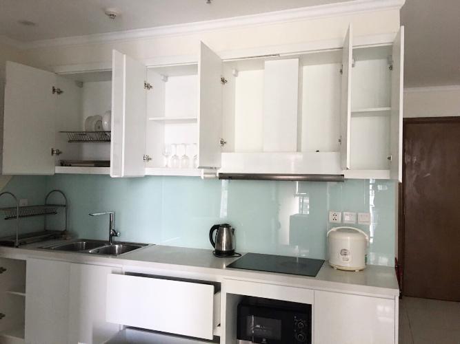 phòng bếp căn hộ Vinhomes Central Park Căn hộ Vinhomes Central Park tầng 10 nội thất đầy đủ