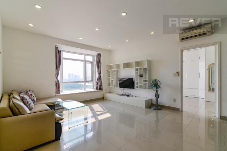 Phòng Khách Căn hộ Riverside Residence 2 phòng ngủ tầng trung tháp D view sông