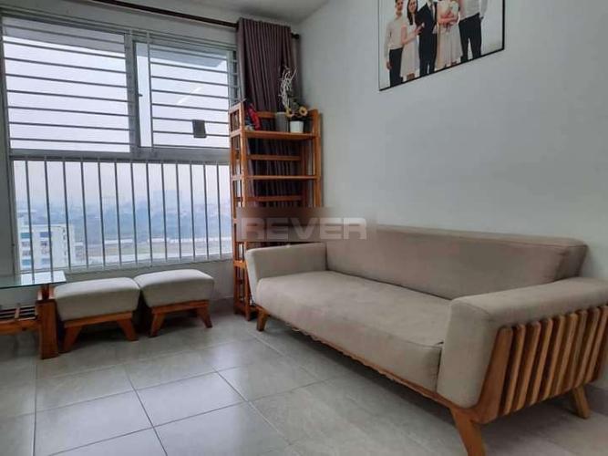 Căn hộ chung cư Ehome 3 cửa chính hướng Nam, nội thất cơ bản.