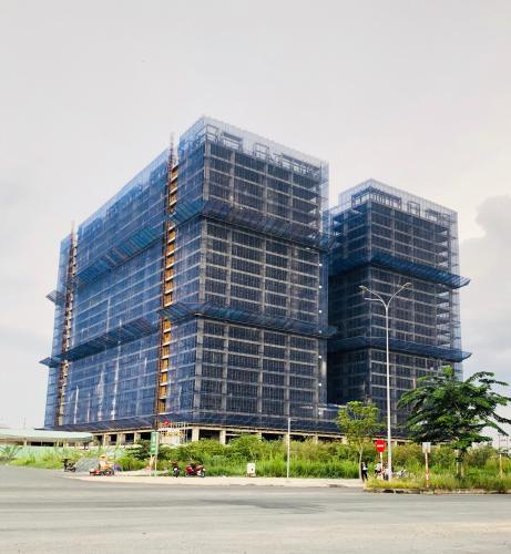 Tiến độ dự án căn hộ   Q7 BOULEVARD Bán căn hộ Q7 Boulevard, 1 phòng ngủ, diện tích 57.21m2, ban công hướng Đông Nam