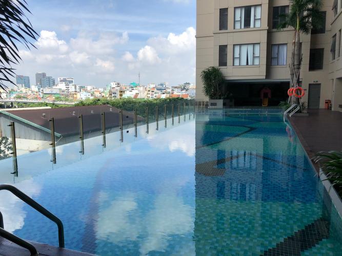 tiện ích hồ bơi The Tresor Căn hộ The Tresor tầng cao view nội khu thoáng mát, yên tĩnh.