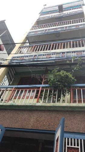 Nhà phố Quận Gò Vấp gồm 1 trệt 5 lầu, hẻm xe hơi thoáng mát.