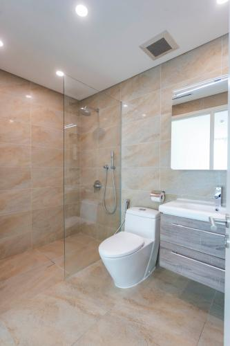 Phòng tắm , Căn hộ Léman Luxury Apartment , Quận 3 Căn hộ tầng 8 Léman Luxury Apartments 2 phòng ngủ, đầy đủ nội thất.