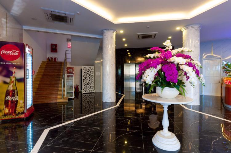 Sảnh chờ của căn hộ dịch vụ quận 10 Cho thuê căn hộ dịch vụ đường Ba tháng Hai, Quận 10, diện tích 35m2, cách Nhà hát Hòa Bình 200m
