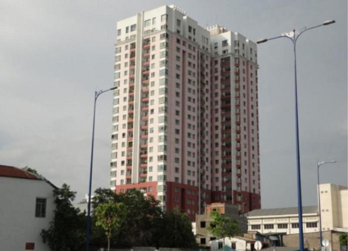 Căn hộ khu Chung cư Phúc Thịnh, Quận 5 Căn hộ Khu chung cư Phúc Thịnh tầng 12, đầy đủ nội thất và tiện ích.