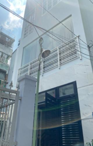 Mặt tiền nhà phố Điện Biên Phủ, Bình Thạnh Nhà phố hướng Đông Bắc, 2 mặt hẻm trước sau.