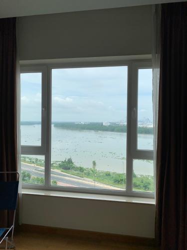Phòng ngủ Đảo Kim Cương, Quận 2 Căn hộ Đảo Kim Cương view sông và thành phố, đầy đủ nội thất.