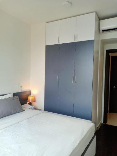 Phòng ngủ The Tresor Quận 4 Căn hộ tầng 22 The Tresor, view sông mát mẻ