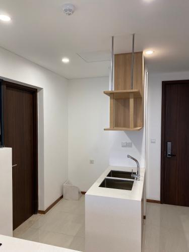 Phòng bếp One Verandah Quận 2 Căn hộ One Verandah tầng 12, đầy đủ nội thất, view thành phố.