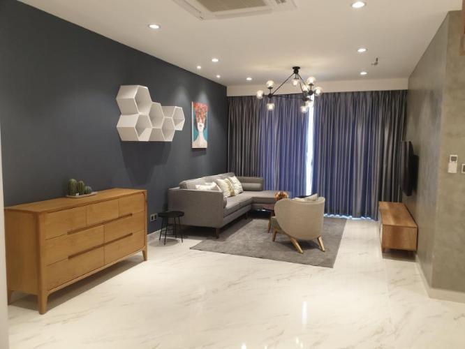 Phòng khách căn hộ Phú Mỹ Hưng Midtown Căn hộ 2 phòng ngủ Phú Mỹ Hưng Midtown trang bị đầy đủ nội thất.