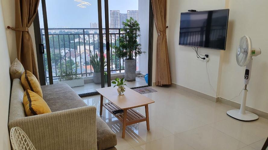 Căn hộ The Sun Avenue tầng trung, nội thất đầy đủ hiện đại.