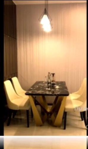 Phòng ăn One Verandah Quận 2 Căn hộ One Verandah tầng trung, bàn giao nội thất đầy đủ.