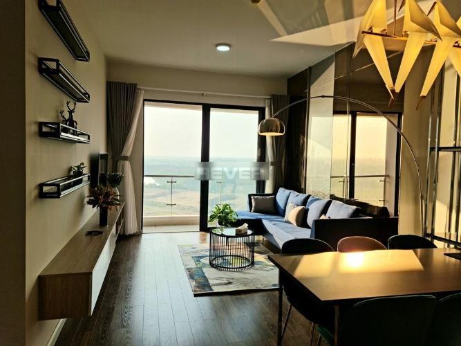 Căn hộ tầng 10 Mizuki Park hướng Tây Bắc, đầy đủ nội thất.