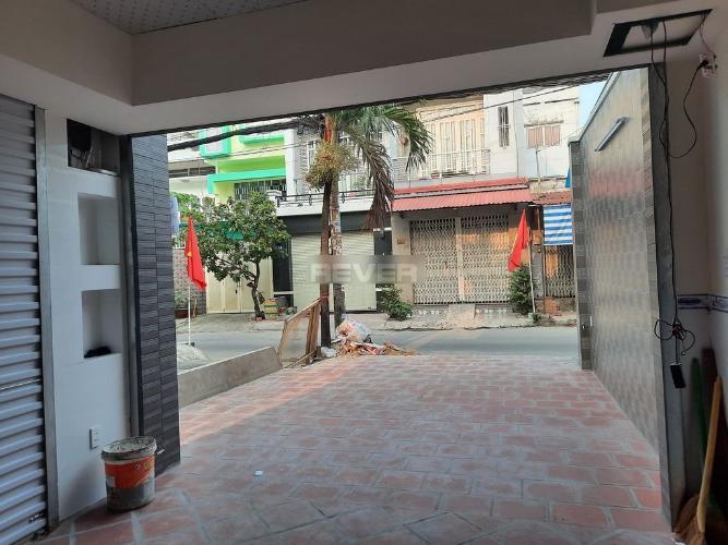 Không gian sân nhà phố Quận Gò Vấp Nhà phố mặt tiền Đường Nguyễn Duy Cung diện tích sử dụng 150m2