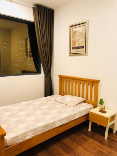 Phòng ngủ One Verandah Quận 2 Căn hộ One Verandah tầng trung, trang bị nội thất đầy đủ.