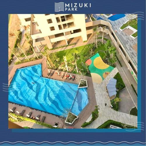tiện ích căn hộ mizuki park Căn hộ Mizuki Park tầng trung, view nội khu.