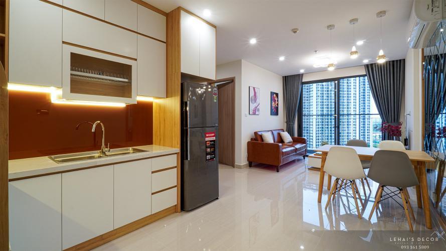 Phòng bếp căn hộ Vinhomes Grand Park, Quận 9 Căn hộ Vinhomes Grand Park ban công hướng Đông Nam thoáng mát.