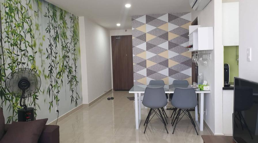 Phòng khách Cetana Thủ Thiêm, Quận 2 Căn hộ Centana Thủ Thiêm đầy đủ nội thất, hướng Tây Nam.