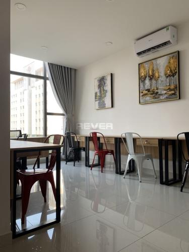 Officetel tầng 3 Saigon Royal hướng Tây Bắc, đầy đủ nội thất.
