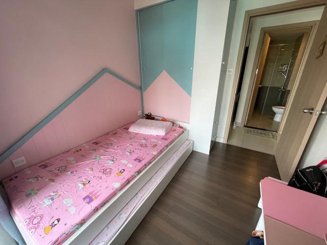 phòng ngủ căn hộ The Sun Avenue Căn hộ The Sun Avenue hướng  Tây Bắc, đầy đủ nội thất.
