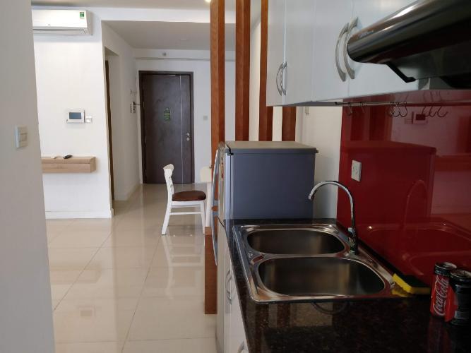 Phòng bếp Icon 56, Quận 4 Căn hộ Icon 56 tầng trung, nội thất hiện đại tiện nghi.