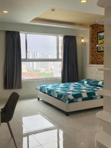 phòng ngủ căn hộ sunrise Riverside Căn hộ Sunrise Riverside tầng trung, đầy đủ nội thất