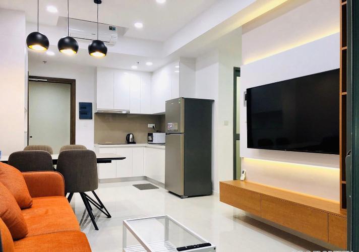 Căn hộ Masteri An Phú tầng 16 đầy đủ nội thất, ban công thoáng mát.