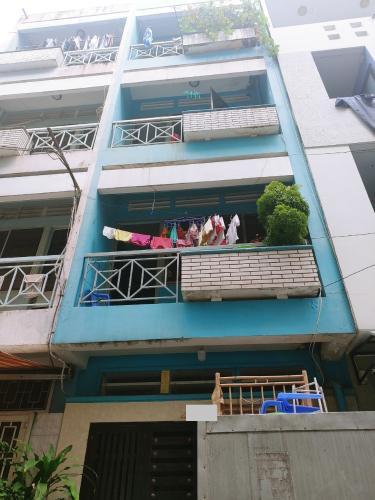 Nhà phố kết cấu 1 trệt 3 lầu diện tích 22m2, khu dân cư hiện hữu.
