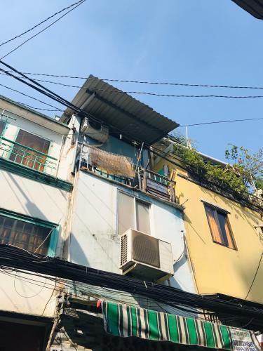 Bán nhà phố đường Trần Văn Đang phường 9 quận 3, diện tích đất 14.5m2, sổ hồng pháp lý đầy đủ