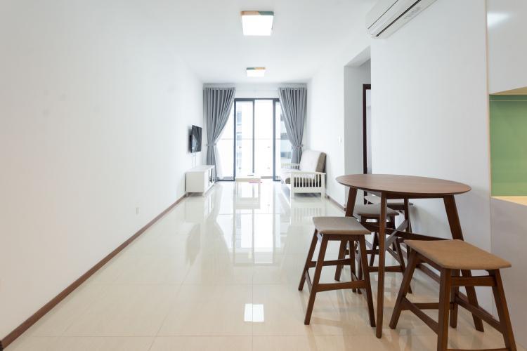 Phòng khách One Verandah Quận 2 Căn hộ One Verandah tầng trung, nội thất hoàn thiện.