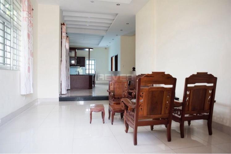 Phòng khách Biệt thự Võ Chí Công, quận 9 Biệt thự 1 trệt 2 lầu Võ Chí Công, quận 9, thiết kế hiện đại