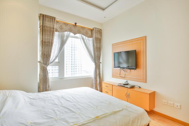 Phòng ngủ 1 Căn hộ 3 phòng ngủ tầng cao Ruby 1 Saigon Pearl