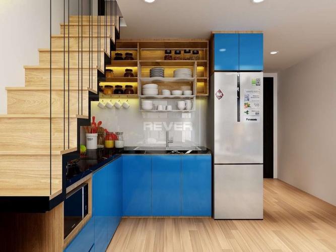 Căn Officetel Sky 9 tầng thấp tiện di chuyển, đầy đủ nội thất.