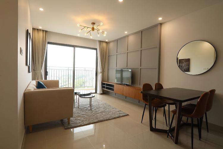 Căn hộ 3 phòng ngủ tầng cao The Sun Avenue, đầy đủ nội thất