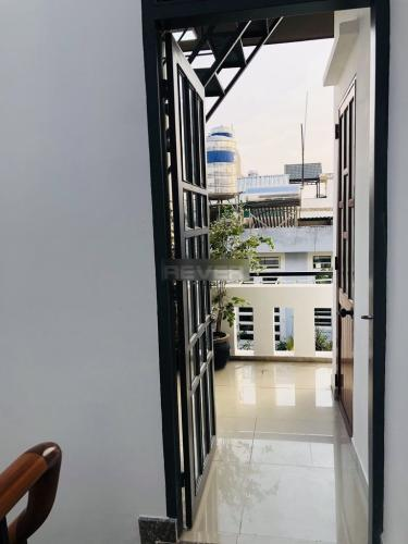 Không gian nhà phố Quận Gò Vấp Nhà phố Q.Gò Vấp hướng Nam diện tích sử dụng 131m2, sổ hồng riêng.