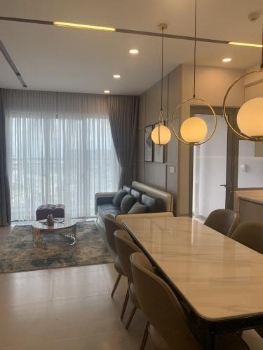 Căn hộ Palm Heights gồm 2 phòng ngủ, bàn giao đầy đủ nội thất