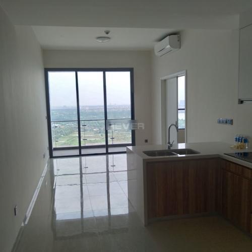 Căn hộ Q2 Thao Dien tầng 29 cửa hướng Nam, nội thất cơ bản.