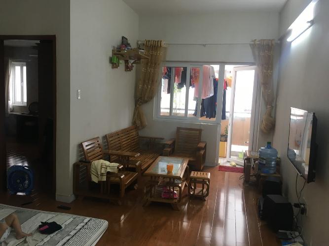 Căn hộ chung cư Vạn Đô ban công Đông Nam, bàn giao đủ tiện nghi.