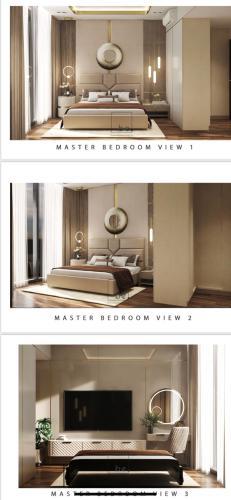 Căn hộ tầng 2 Empire City Thủ Thiêm nội thất đầy đủ, view thoáng