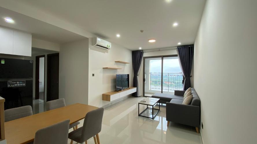 Căn hộ Saigon Royal tầng 26 đầy đủ nội thất, thiết kế hiện đại.