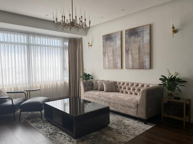 Căn hộ cao cấp Saigon Pearl tầng cao view Bitexco, đầy đủ nội thất.