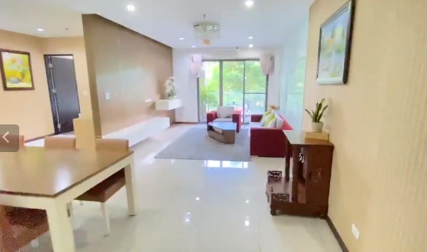 Căn hộ Docklands Sài Gòn có 3 phòng ngủ, đầy đủ nội thất sang trọng.