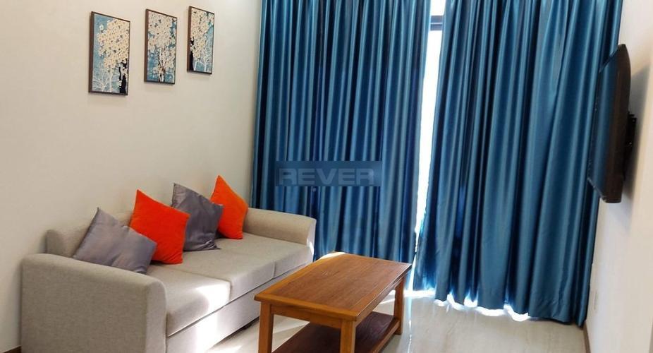 Căn hộ Him Lam Phú An thiết kế hiện đại tinh tế, nội thất đầy đủ.